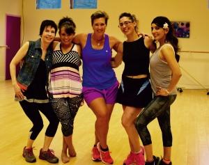 Post dance class workout!