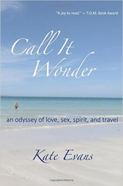 Here is the front cover of Kate's book, I love the calming beach scene.