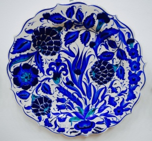I loved all the Turkish plates. I wanted to buy so many but really not very practical for a backpacker!