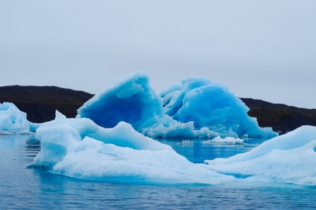Massive chunks of ice! So cool!