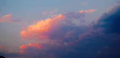 Love clouds and I love colour.