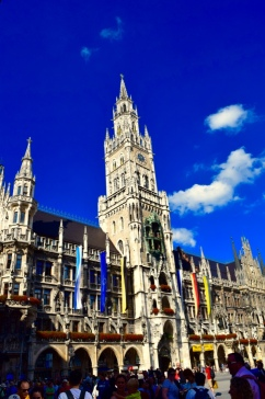 Epic buildings like these in Munich.