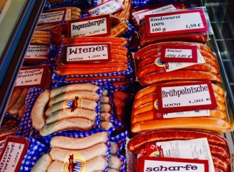 These are my favourite sausages in the whole wide world.