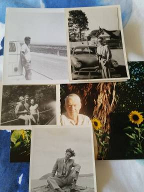 A collage of photos of my awesome Dad.