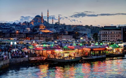 A lovely scenic shot of Istanbul. Photo credit: rarm-scoop.org