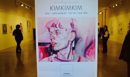 'KIMKIMKIM ~ So hollow so pure' is on at the Merenda Gallery in Fremantle.