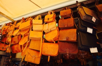 I would have bought every single one of these bags. I love leather bags. I just bought them with my eyes. So much easier to carry!