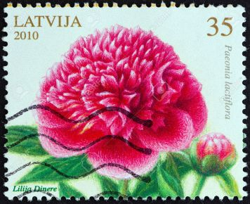 An amazing and pretty stamp from Latvia a few years ago.