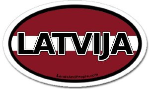 This is actually how you spell Latvia!