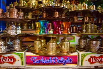 This awesome photo was taken at the Grand Bazaar in Istanbul.