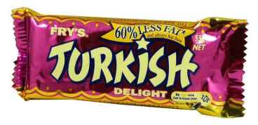 This is what a little bar of joy looks like. Aka Turkish Delight. when was the last time you had one of these?